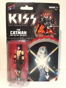 """Peter Criss - The Catman - KISS - 3.75"""" Figure - Rock and Roll Over Outfit - NIB"""