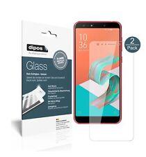 2x Asus Zenfone 5 Lite (ZC600KL) Protector de Pantalla Vidrio Flexible Cristal