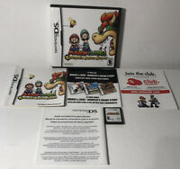 Mario And Luigi Bowser's Inside Story Nintendo DS Complete CIB Tested Authentic