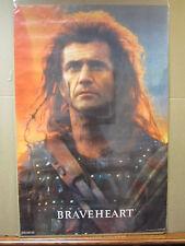 vintage 1995 Braveheart movie poster Mel Gibson   5142