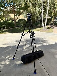 mint Benro S8 with A673TM STICKS and bag Video Head, Tripod