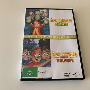 Alvin and the Chipmunks: Meet Frankenstein / Meet The Wolfman DVD R4