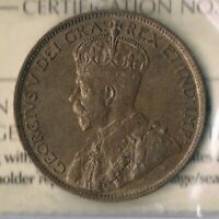 George V 1915 One Cent: ICCS EF45