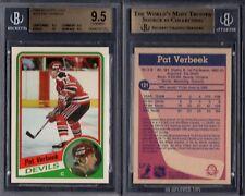 BGS 9.5 1984-85 O-Pee-Chee #121 Pat Verbeek RC POP47 New Jersey Devils G00 1816
