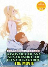 Sayonara no Asa ni Yakusoku no Hana wo Kazarou DVD Movie [Eng]US Seller ShipFAST