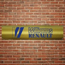 Clio Williams Banner Garage Workshop PVC Sign Track Display
