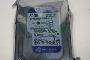 """WESTERN DIGITAL WD800AAJB - 80GB 7.2K IDE 3.5"""" 8MB Cache Hard Drive"""