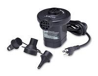 Intex 120V Quick Fill AC Electric Air Pump w/ Nozzles 66619E Air Beds Boats Toys