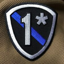 Thin Blue Line One Ass-to-Risk Shield Patch