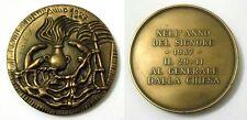 Medaglia Nell'Anno Del Signore 1987 Al Generale Dalla Chiesa (A.Dorel) Bronzo