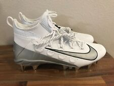 Nike Alpha 6 Huarache Elite Lax Mid Lacrosse Cleats White 923422-101 Men Sz 13
