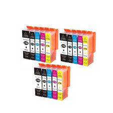 15 Ink Cartridge For Canon PGI270XL CLI271XL PIXMA MG5720 MG5721 MG5722 MG6820