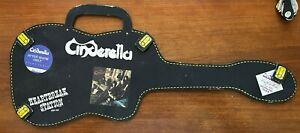 "Vintage-RARE-Ltd Ed CINDERELLA ""guitar case"" HEARTBREAK STATION - PROMO ITEM"