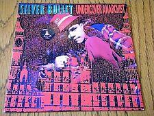 "SILVER BULLET - UNDERCOVER ANARCHIST  7"" VINYL PS"