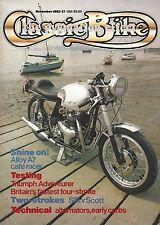 M20 BSA M21 Silk Two-Stroke Scott 925cc RGB Weslake 500cc Triumph Adventurer