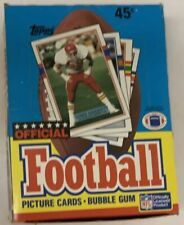 1989 Topps Football Hobby Box GEM 36 Pack FASC