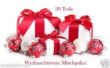 30 Teile Weihnachtsware Weihnachten X-Mas Mischpaket Paket Mix AKTION NEUWARE 1A