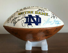 Notre Dame Team Autographed Signed Football Fighting Irish 14 Signatures