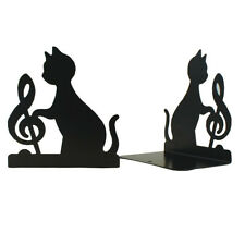 Book Non-skid Bookends Art Bookend,1Pairs,(Black) X5T5 J8P0