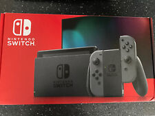 Nintendo Switch Grey Console (Improved Battery) Brand New