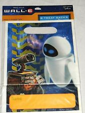 NEW ~WALL.E~ DISNEY PIXAR 8- LOOT BAGS  PARTY SUPPLIES