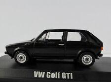 VW Golf I GTI 1976 Black 1/43 NOREV 840078 VOLKSWAGEN 1 Schwarz
