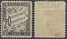 ---- FRANCE TIMBRE TAXE N°17 - NEUF AVEC GOMME D'ORIGINE - COTE 500€ ----