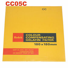 Kodak Colour compensating gelatin filtro. 180x180 mm cc05c