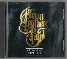 A Decade of Hits 1969-1979 by Allman Brothers Band (The) (CD, Oct-1991, Polydor)