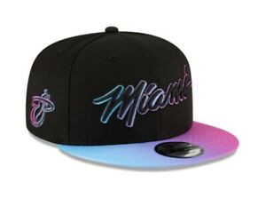 Miami Heat Vice City Edition COURT CULTURE Snapback Hat South Beach Fit ☀️🌴🌊