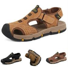 Summer Mens Beach Slingbacks Sandals Shoes Closed Toe Sports Walking Non-slip L
