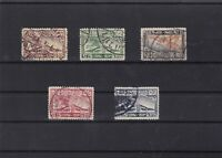 thailand 1925 air stamps ref 11551