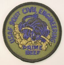 USAF 901st Civil Engineering Prime Beef Patch Air Force Emergency Readiness SSI
