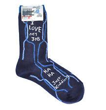 I Love My Job. Ha Ha. Just Kidding. - Soft Combed Cotton Socks - Women's Crew