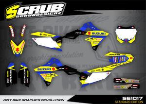 Suzuki graphics RMz250 2019 2020 2021 stickers '19 20 '21 SCRUB decals RMz 250