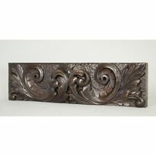 Antique English Carved Architectural Salvaged Decorative Panel / Drawer