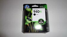 Genuine OEM HP 940XL C4906AN High Yield Black Ink In Sealed Retail Box 06/2015