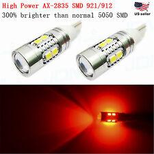 JDM ASTAR T15 Wedge Red 921 912 W5W 2835 LED Signal Brake Tail Marker Light Bulb