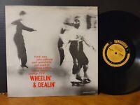 JOHN COLTRANE FRANK WESS ArRT TAYLOR MAL WALDRON WHEELIN' & DEALIN' Prestige LP!