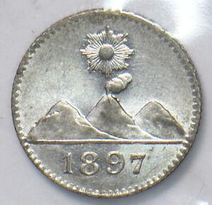 Guatemala 1897 1/4 Real 490149 combine shipping