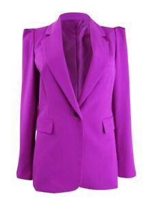BAR III Women's Trendy Plus Size One-Button Blazer