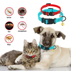 Dog Flea and Tick Collar Anti-Mosquitoes Nylon Neck Strap Puppy Cat Pet Collar