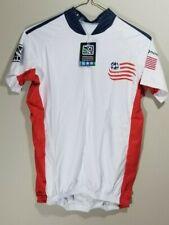 MLS New England Revolution Mens Secondary Short Sleeve Vomax Jersey, Large A2