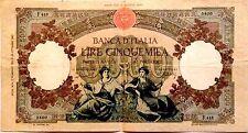 Banconota 5000 Lire Repubbliche Marinare Decr 07.02.1953 Regine Del Mare BB