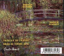 STAMP / TIMBRE DE FRANCE  N° F4479 ** LES JARDINS DE FRANCE / JARDINS DE GIVERNY