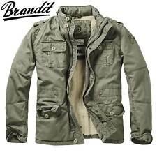 Brandit Britannia Herren Winterjacke Jacke M65 Vintage oliv 4XL