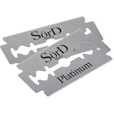 Double edge safety razor blades SôrD Blades 100 Platinum Stainless Steel Deluxe