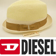 7d7a0c9e060 DIESEL Citsuyer 00SING Mens Fedora Yallow Hat Gentlemen s Hat RRP£45
