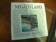 NEGATIVLAND NEW ALBUM 1987 SST CD NEAR MINT