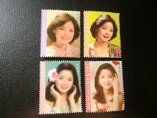China Taiwan Stamp(4232-4235)2015-特621-1145-Teresa Teng Famous Singer 鄧麗君 Stamps